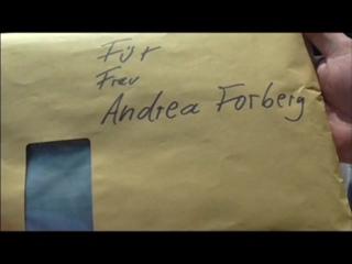 Wichtige Unterlagen für Andrea Forberg