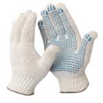 7,5 класс ( 5 нитей) перчатки с ПВХ