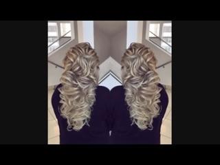 Восхитительная прическа на длинные волосы