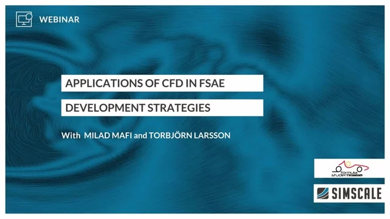 Application of CFD in Formula Student and FSAE Session 3 Development Strategies