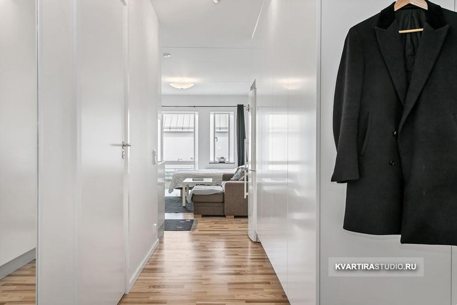 Бюджетный ремонт типовой квартиры-студии 31 м.