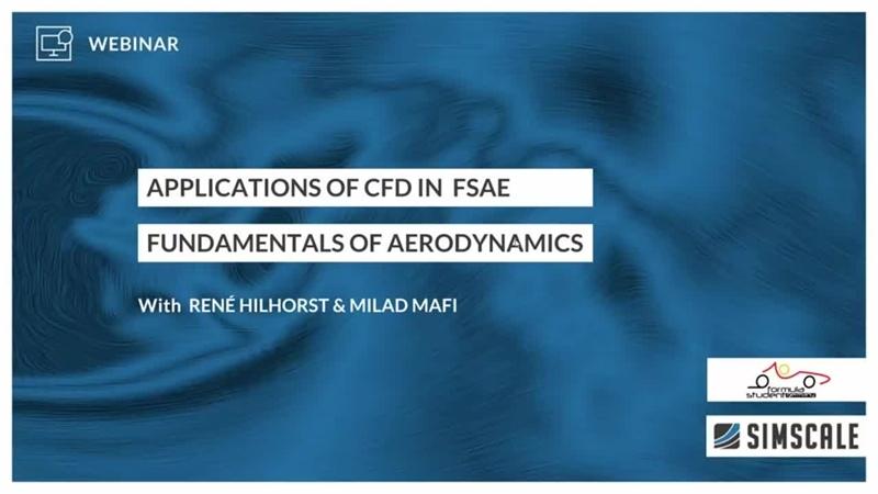 CFD in Formula Student and FSAE Session 1 Fundamentals of Aerodynamics