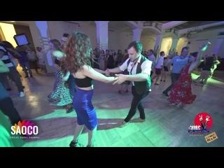 Patrick Steindl и Светлана Левченко танцуют сальсу на 3 Front Relax