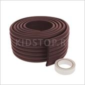 Защитная лента на края и углы мебели, цвет коричневый, 2м.