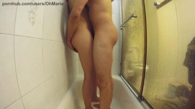 Hot Amateur Couple Caught in Shower Sex (HIDDEN CAMERA)