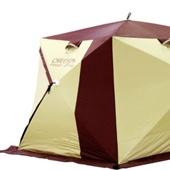 Зимняя палатка «Снегирь» 3Т long КОМПАКТ