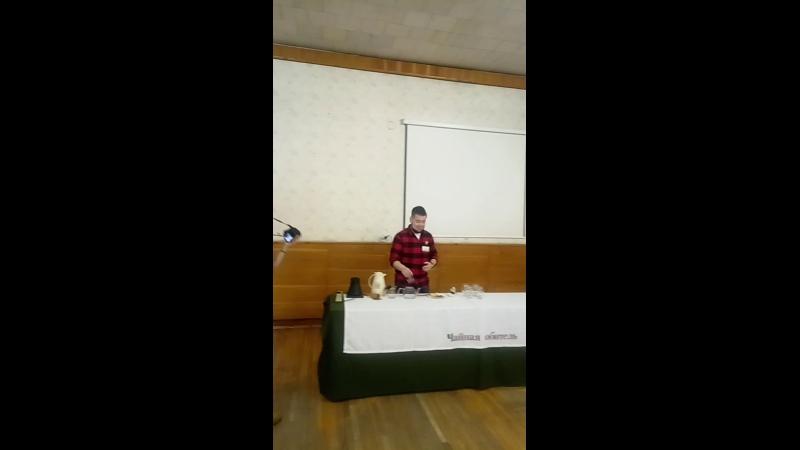 Tea Masters Cup 2020 Чайная миксология Александр Устюжанин организаторский микс