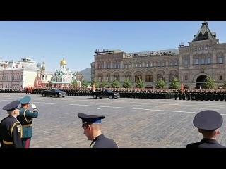 Сергей Шойгу приветствует войска