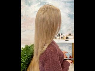 Из темного в блонд