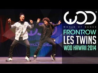 Les Twins - FRONTROW - World of Dance 2014 #WODHI