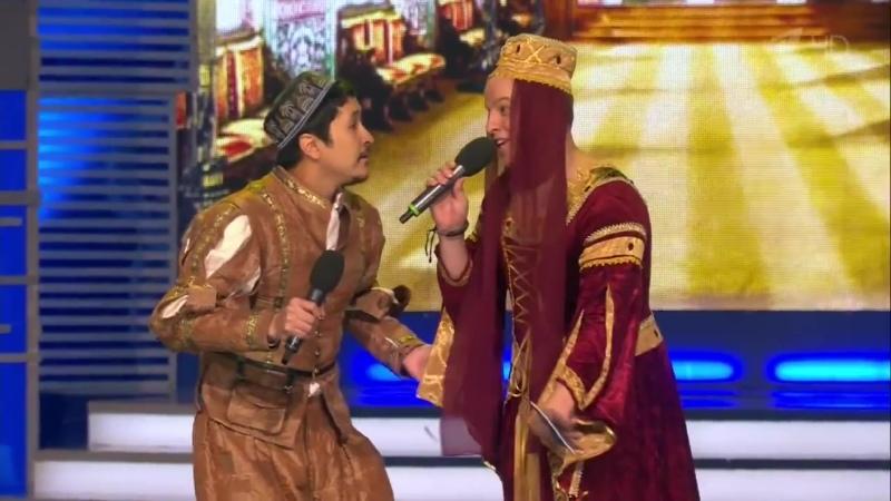 КВН Азия Микс 2015 Высшая лига Третья 1 4 КОП 720p
