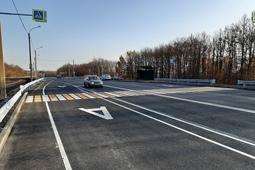 Реконструированы еще 800 метров трассы Липецк – Данков