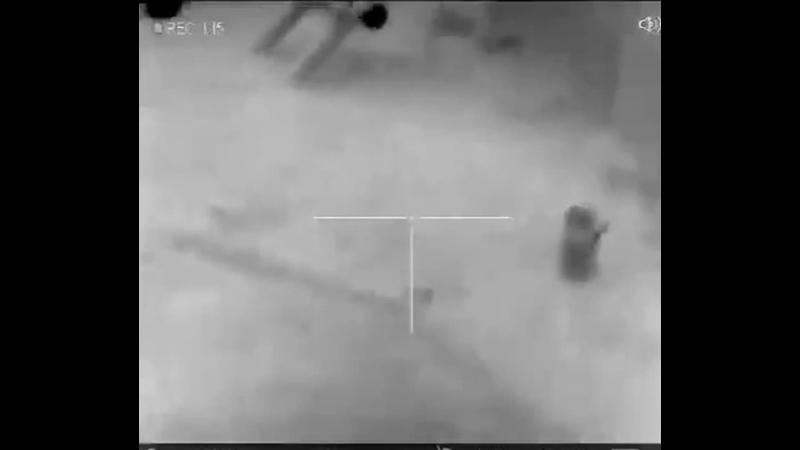 снайпер Талибан работает MP4