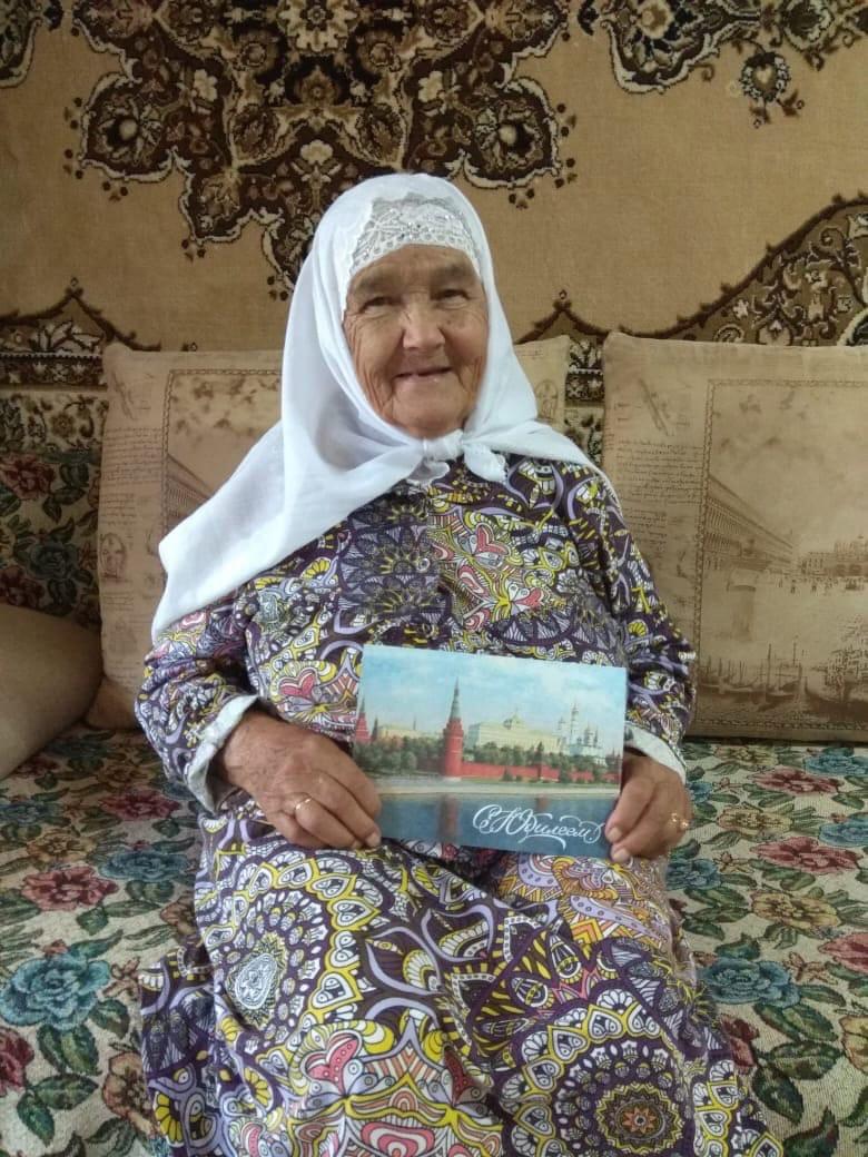 Сегодня свой 90-летний юбилей отмечает жительница Можги