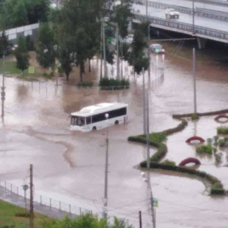 Пока можгинцы жалуются на отсутствие дождей, Казань