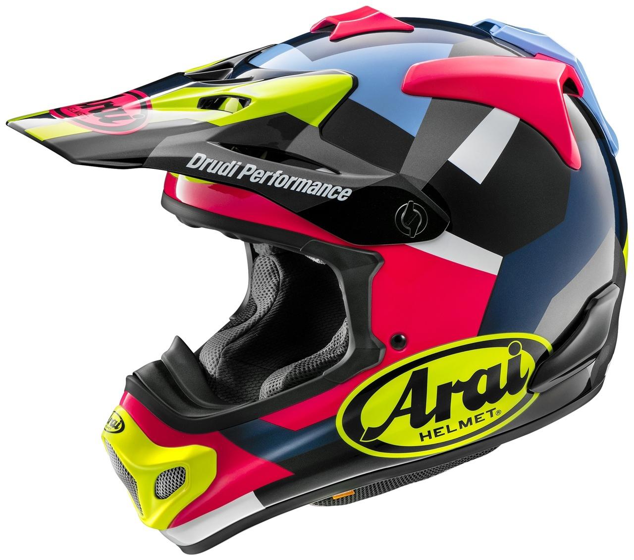 ТНовые расцветки Arai VX-PRO4