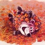 Осень лебёдушкой тихо явилась — стихи
