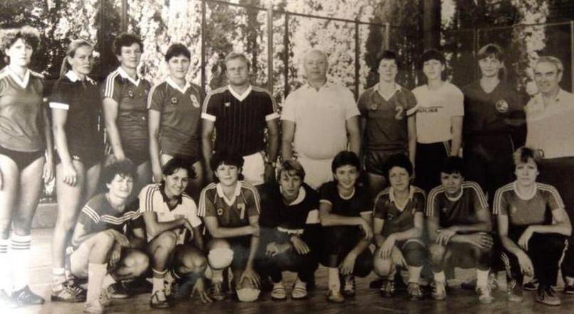 Сбор в Алуште. 1983 год