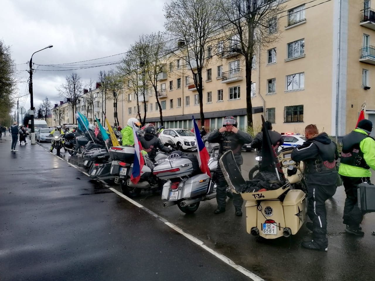 """Международный мотомарш """"Дороги Победы"""" прошел через Ржев"""