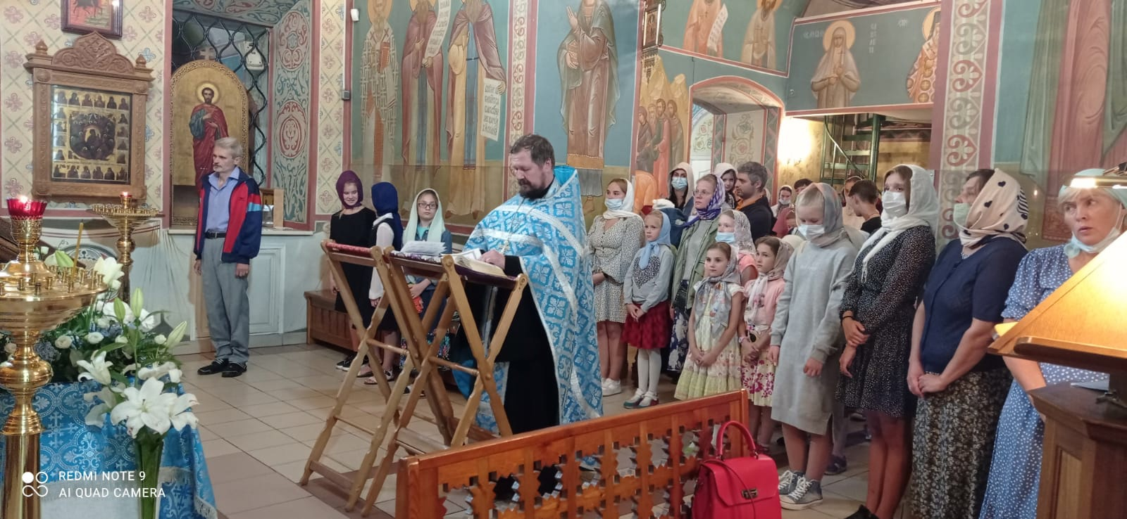Молебен перед началом учебного года