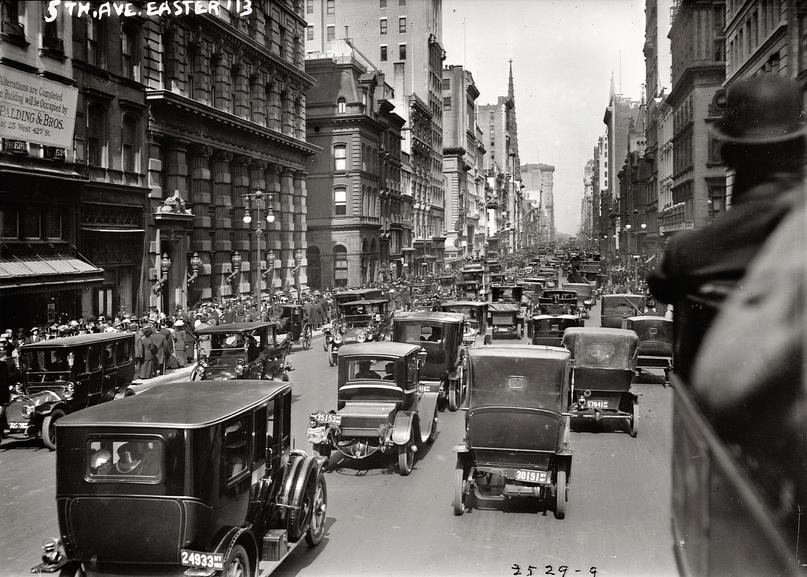 HD-фотографии городов США сделанные в 1900-1915 годах, изображение №22