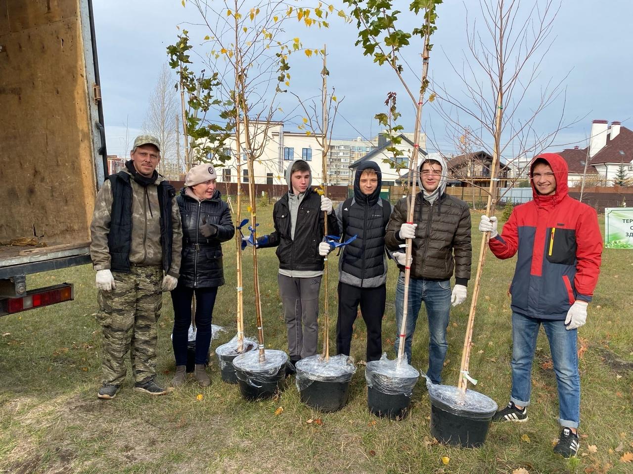 Участие в экологической акции в дендропарке Автозаводского района