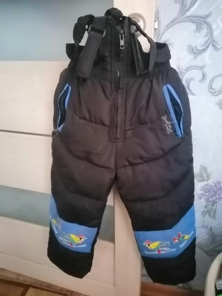 Продаю  вещи для мальчика. Куртка размер 104 см, ш...