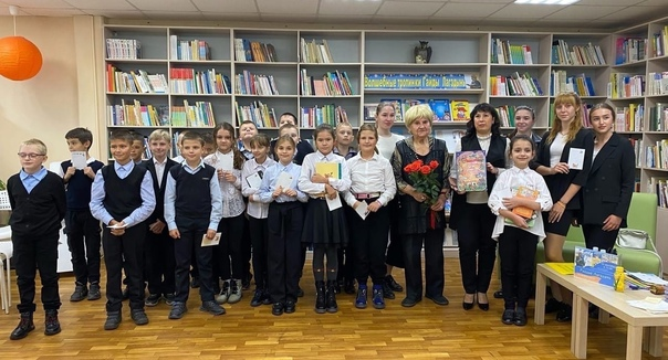 В Торжке побывала известная детская писательница h...
