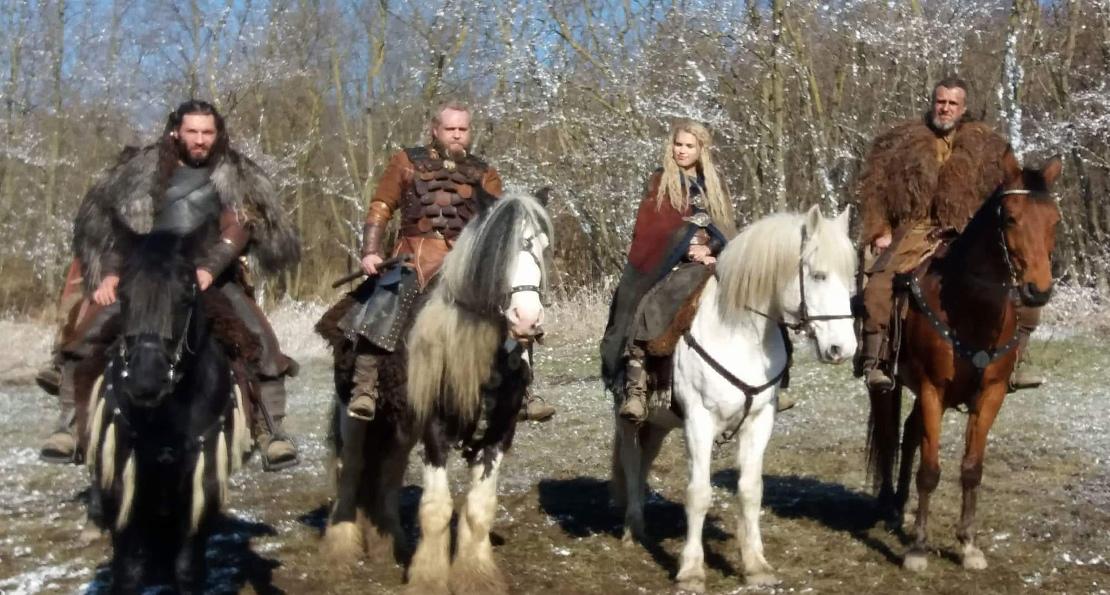 Конные викинги