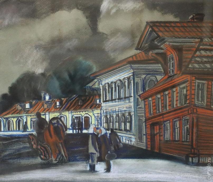 Надежда Девишева. Устье-Кубенское. Разговор. 1986