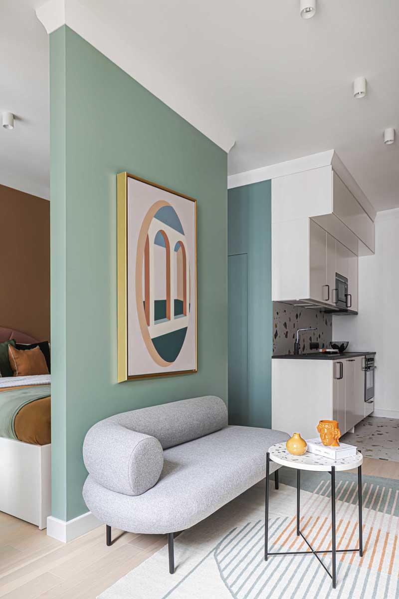 Дизайн квартиры 35 кв.