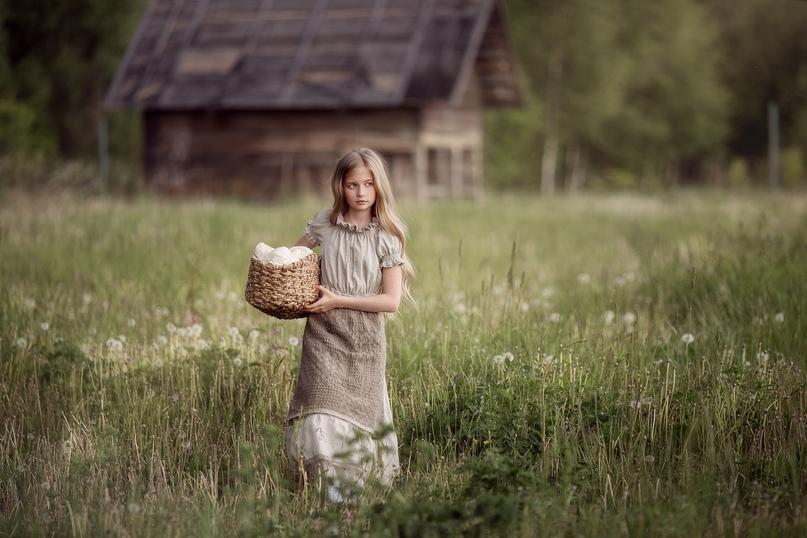 ☝ Что умела девочка 10 лет (без помощи взрослых), живущая в селе век назад:
