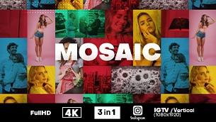 Mosaic Photo Logo Reveal - 1
