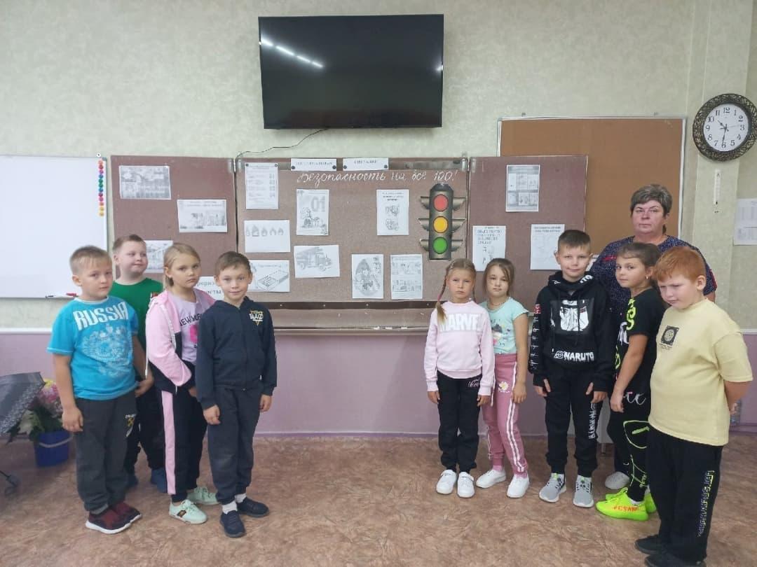 Петровские волонтёры рассказали школьникам о правилах безопасности и здоровом образе жизни