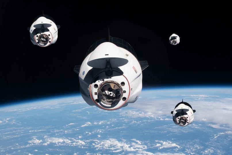 Компания Axiom подтверждает запуск 4-х частных миссии на МКС на кораблях Crew Dragon 🐉