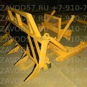 Корчеватель ВТ-90 (Агромаш-90ТГ), 2 гц подьема, 2 гц наклона рамы, 7 клыков
