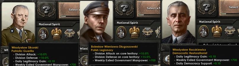 Дневник разработчиков Hearts of Iron IV — Изменение древа фокусов Польши, часть 2, изображение №29