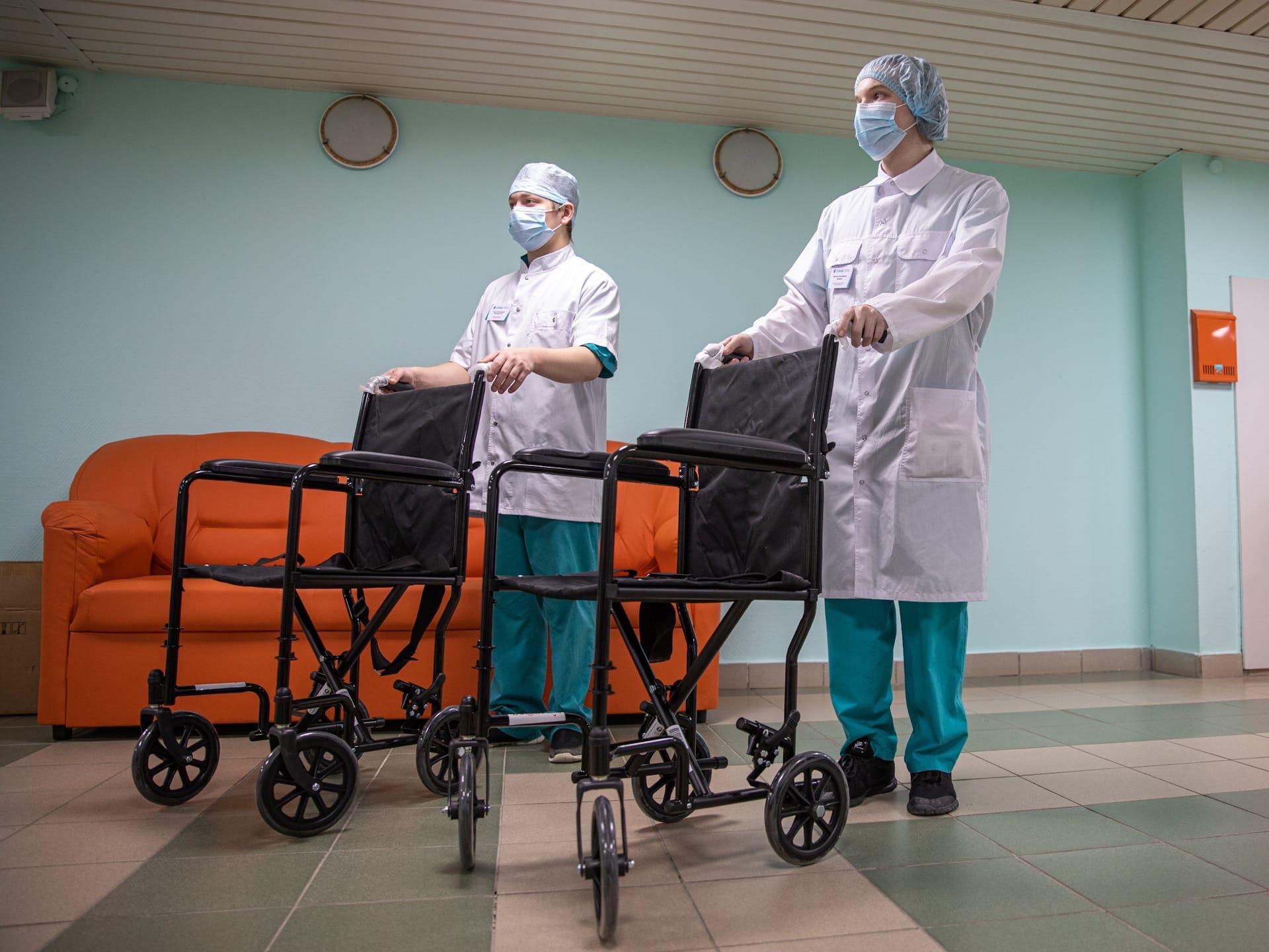 ❗Подарил областному онкологическому диспансеру 2 кресла-коляски, 15