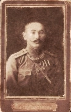 Штабс-капитан П.Г.Корнилов, фото 1913 г. из личного архива П.Селиванова