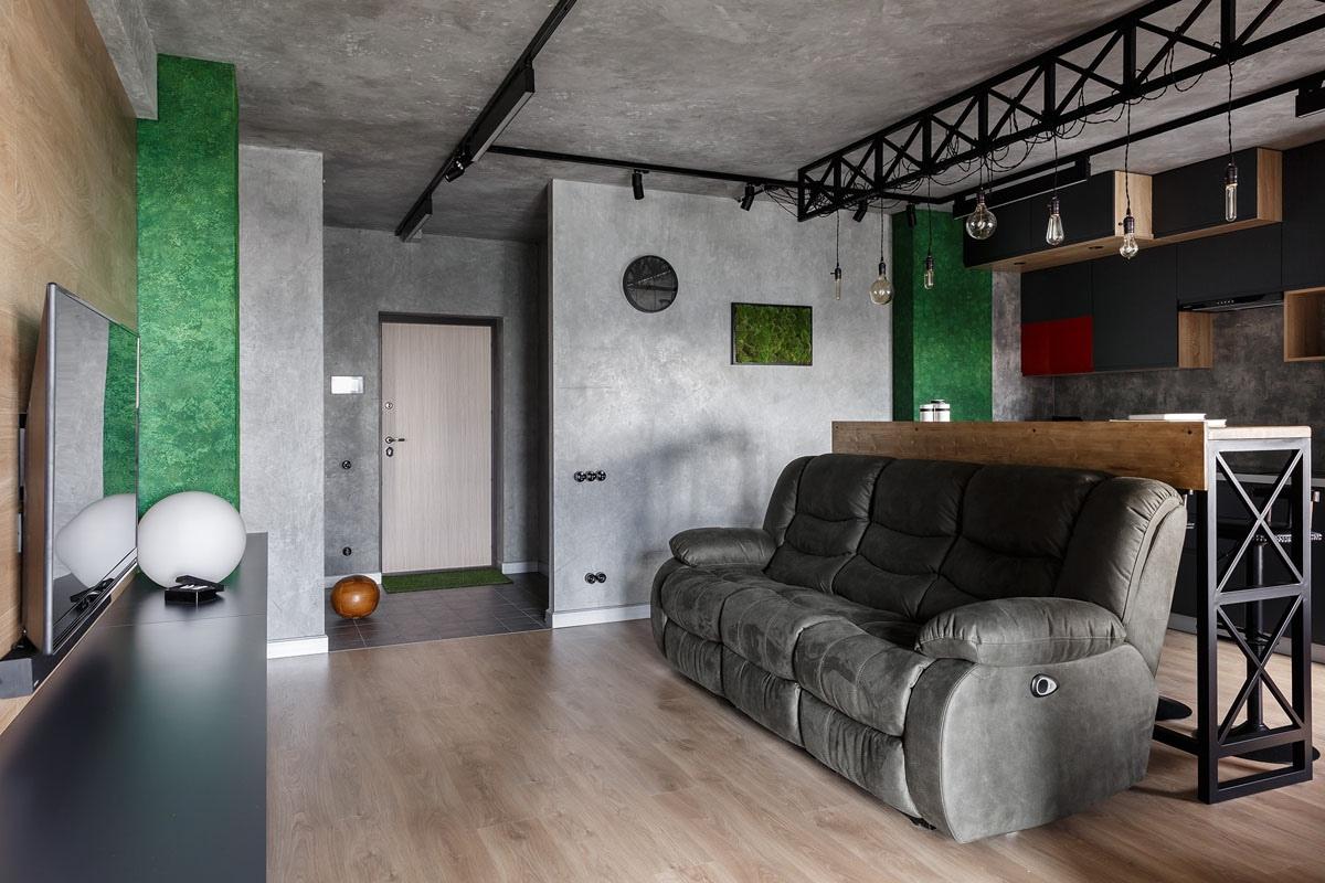 Интерьер квартиры 48 кв.