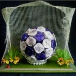 Как сделать конфетный мяч своими руками — МК и идеи