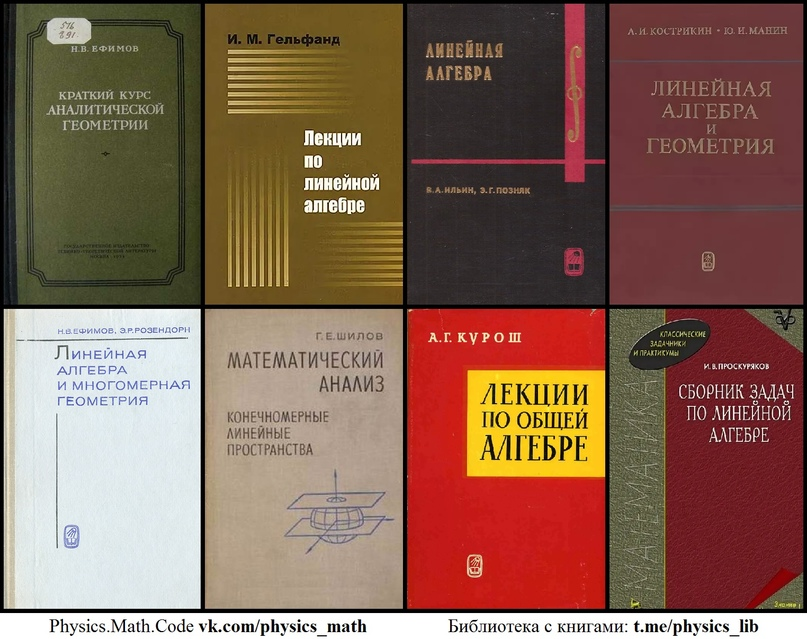 [1] Краткий курс аналитической геометрии [1970] Ефимов