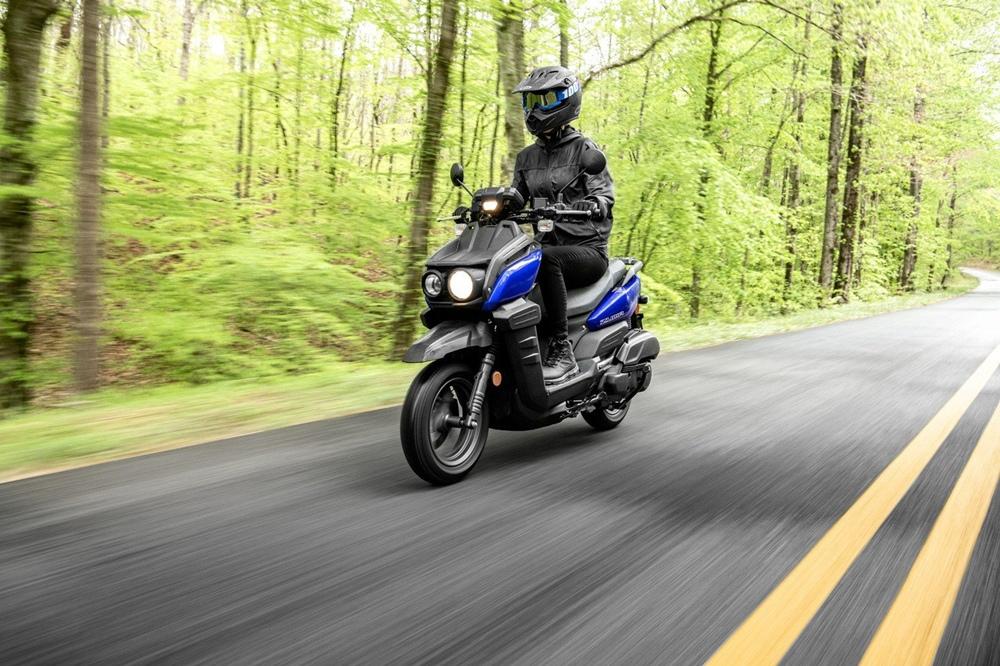 Скутер Yamaha Zuma 125 2021