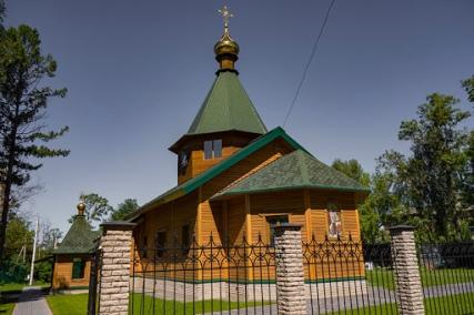Церковь в честь святого благоверного великого князя Александра Невского