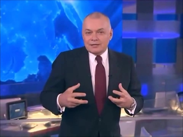 Дмитрий Киселев. Почему он так делает руками.