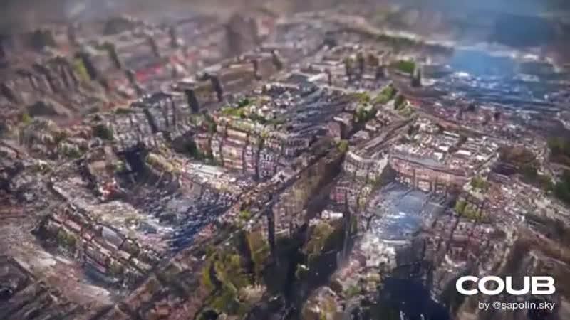 Ахиллес и фрактальный город