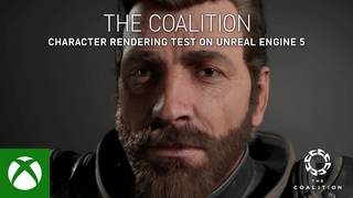 The Coalition - Character Rendering Test on Unreal Engine 5