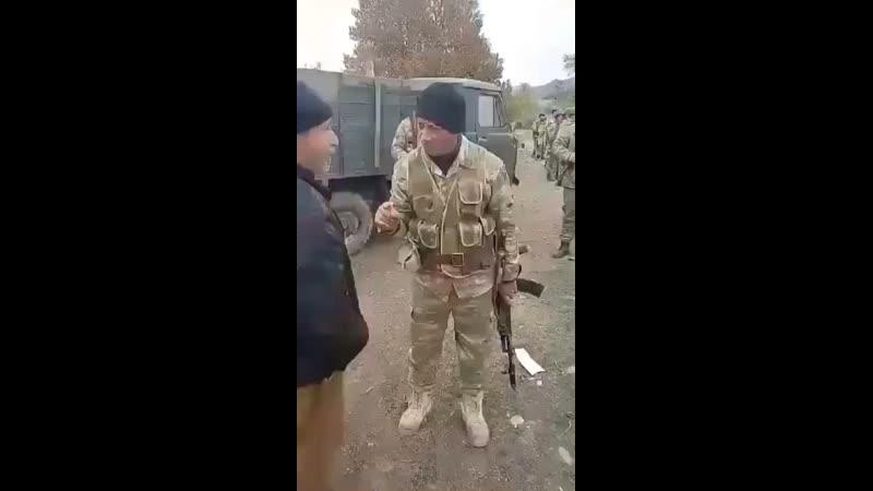 Азербайджанские солдаты