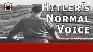 The Only Secret Recording of Hitler's Normal Voice | The Hitler-Mannerheim Recording