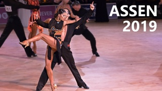 Alexander Chernositov & Arina Grishanina (USA)    Assen 2019   Amateur Latin - R4 Rumba